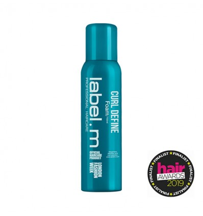 Curl Define Foam label.m 150ml