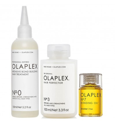 Olaplex Nº.0, Nº.3 and Nº.7 Bundle